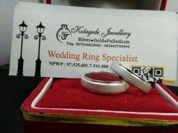 Jual Cincin Palladium Couple Untuk Wedding