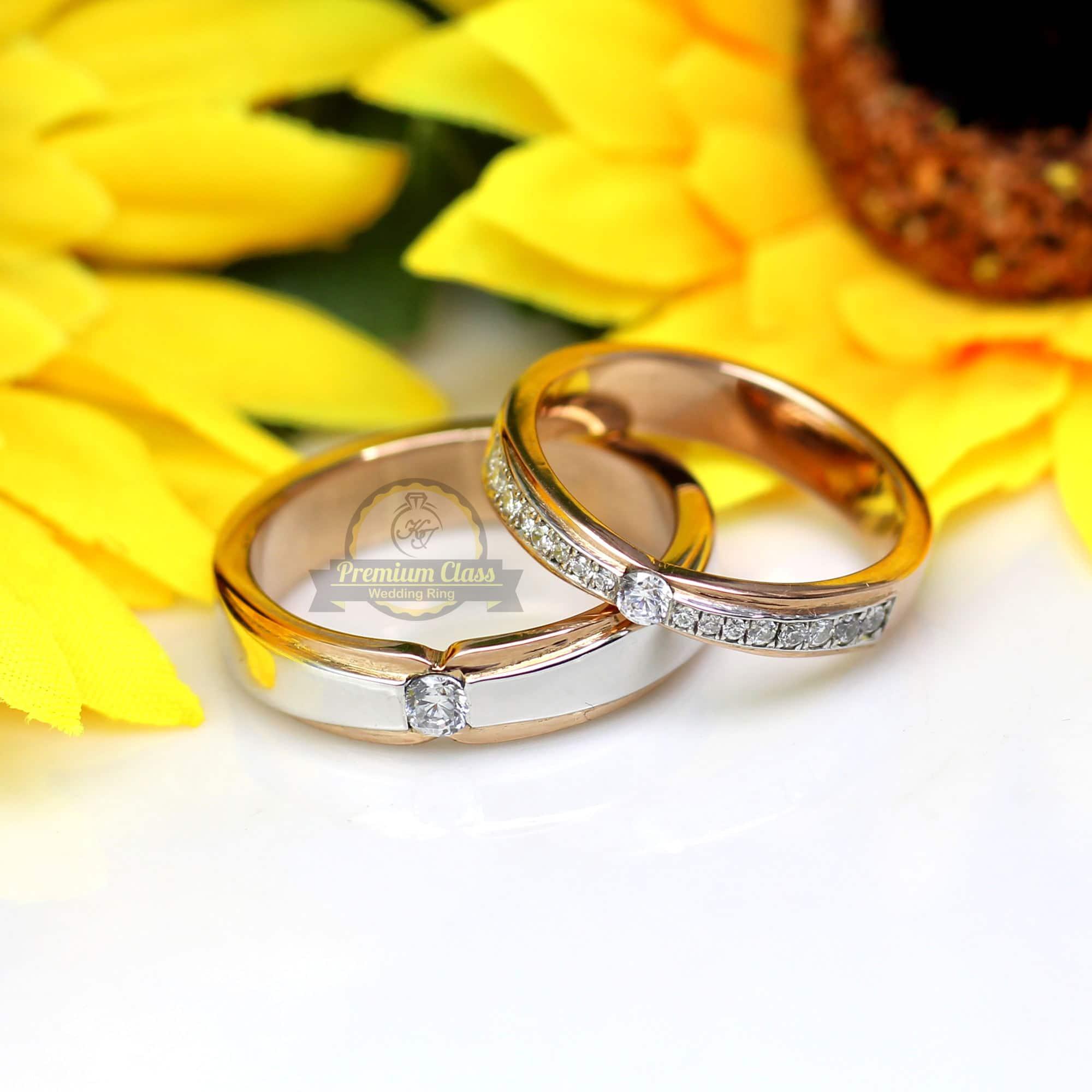 Jual Cincin Kawin Emas Couple Bergaransi Dan Berkualitas