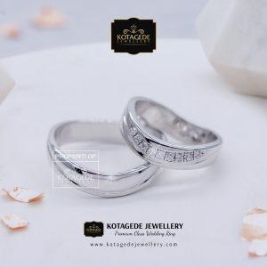 Jual Cincin Berlian Emas Putih