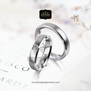 Cincin Pernikahan Nida Palladium