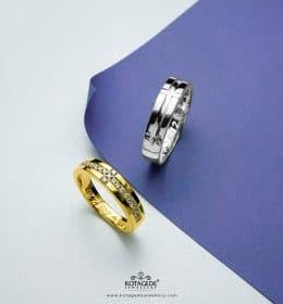 Jual Cincin Emas Putih Dan Palladium Couple Untuk Moment Sakral Anda