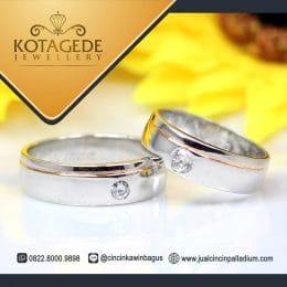 cincin berlian lis simpel
