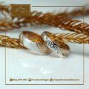 Cincin elegan dari rosegold
