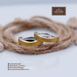 cincin lamaran emas kuning