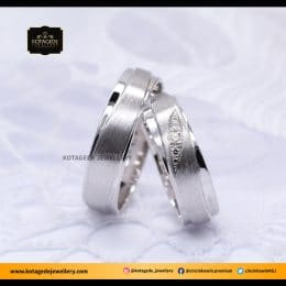 Cincin Kawin Tunangan Platinum Palladium Couple PT0047PD