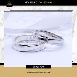 Cincin Kawin Tunangan Palladium Couple PD0119PD