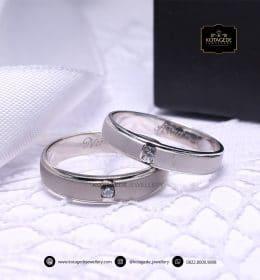 Cincin Kawin Platinum Doff Couple Palladium PD0156PD