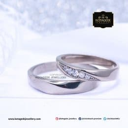 Cincin Kawin Tunagan Palladium Simple Ellegant PD0140PD