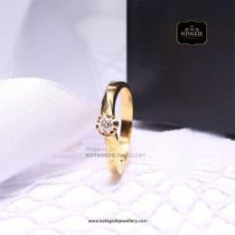 Cincin Kawin Tunangan Emas Kuning YG0154