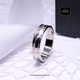 Cincin Kawin Tunangan Platinum Elegant PT0155
