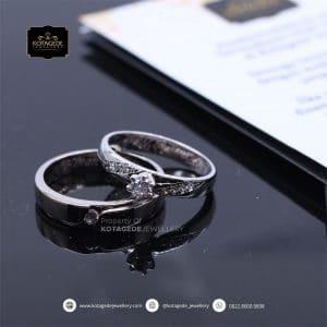 Cincin Kawin Tunangan Diamond Platinum PT0167PT