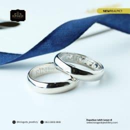 Cincin Kawin Tunangan Platinum Couple Elegant PT0188PT