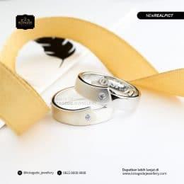 Cincin Kawin Tunangan Platinum Couple PT0202PT