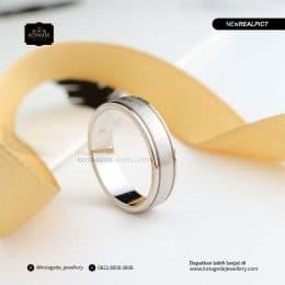 Cincin Kawin Tunangan Platinum Elegant PT0185