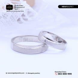 Cincin Kawin TunaCincin Kawin Tunangan Platinum Emas Putih Standar PT0211WGngan Palladium Emas Putih Standar PD0209WG