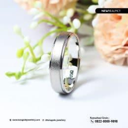 Cincin Kawin Tunangan Emas Putih WG0220