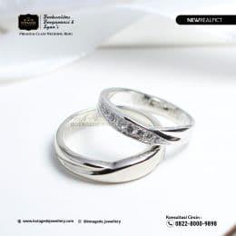 Cincin Kawin Tunangan Platinum Couple PT0218PT