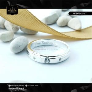 Cincin Kawin Tunangan Platinum PT0226