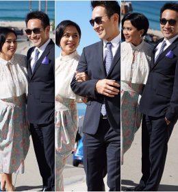 sarah sechan LDR dengan suami