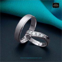 cincin kawin tunangan Platidium Couple PTD0271PTD