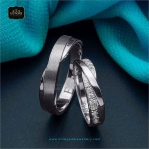 Cincin Kawin Tunangan Palladium Couple PD0275PD