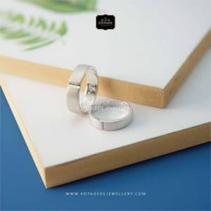 Cincin Kawin Tunangan Platidium Couple Simple PTD0282PTD