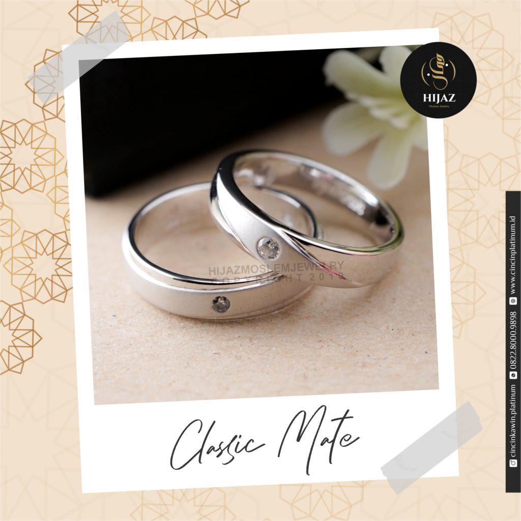 model cincin nikah elegan satu permata