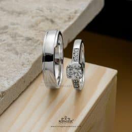 cincin tunangan dan cincin nikah
