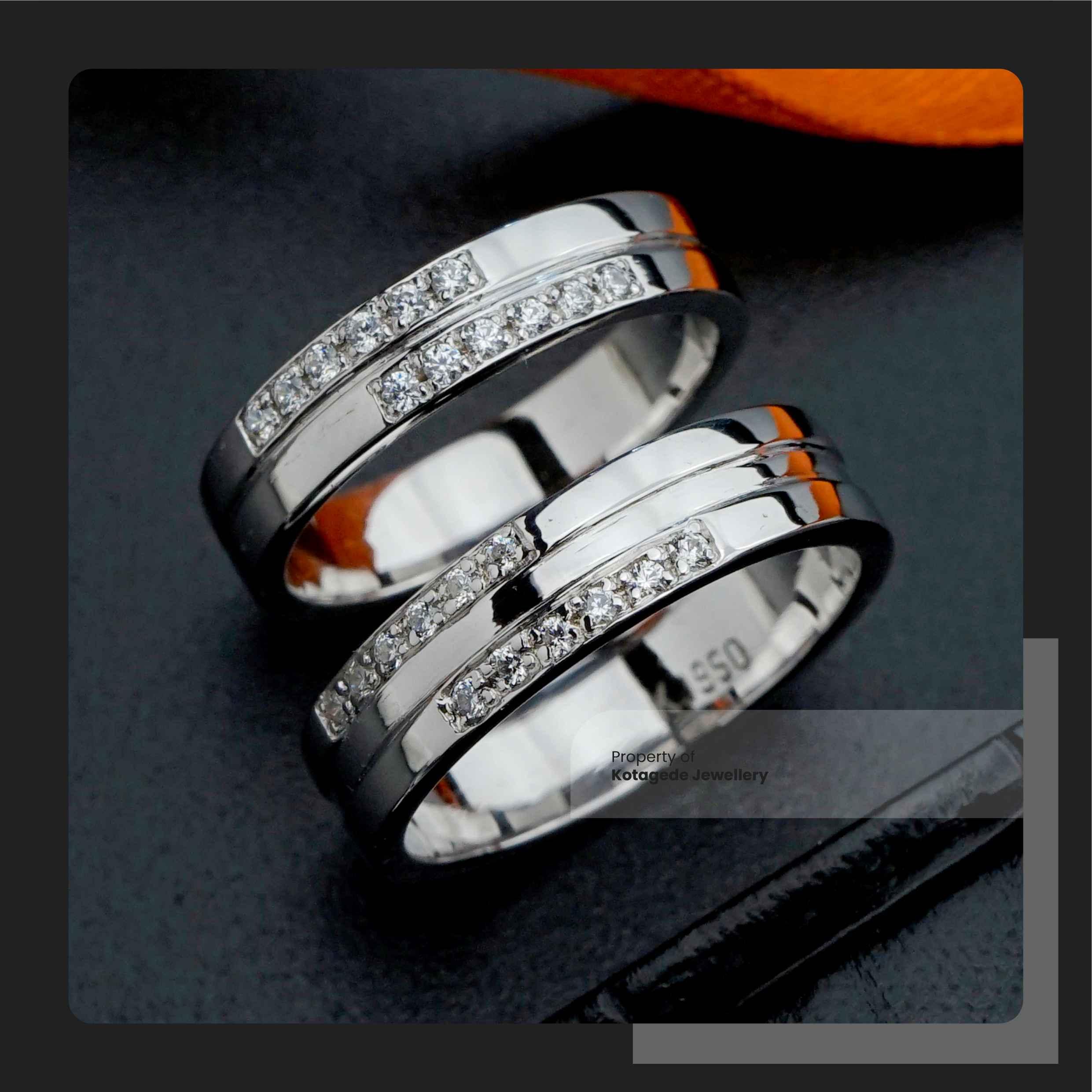 cincin kawin custom palladium