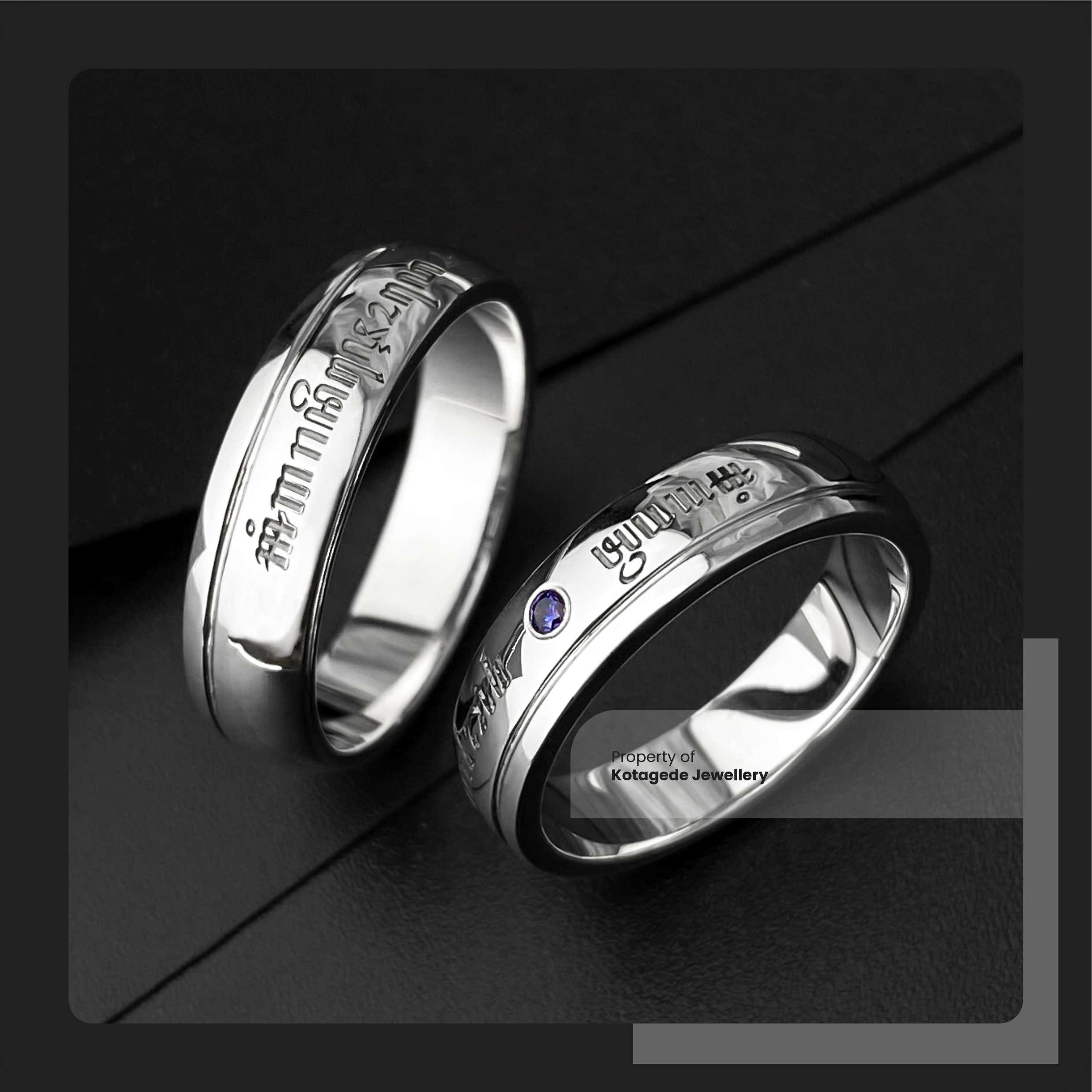 cincin kawin custom platidium laser jawa
