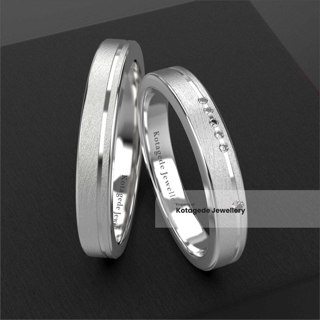 cincin kawin platidium simple